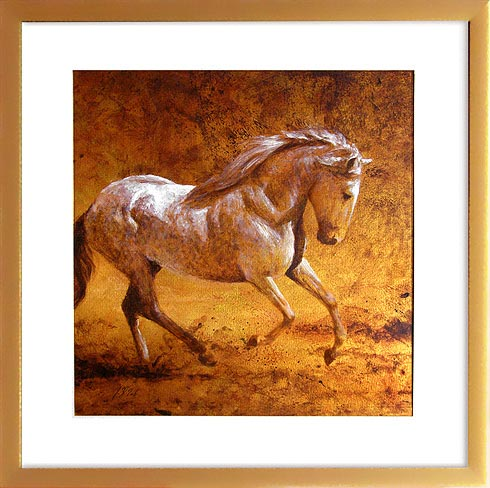 horse painting portrait art gallery of Michael Hotz